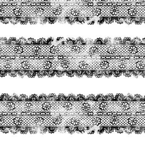 Grunge Floral Lace