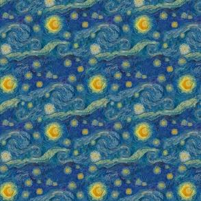 """eine kleine Starry Night (8"""" repeat)"""
