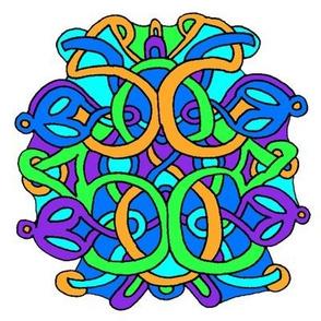 Colorful Celtic Knot