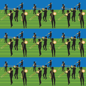 trombone marching band 6x6