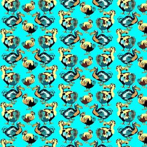 Dodos on Aqua.