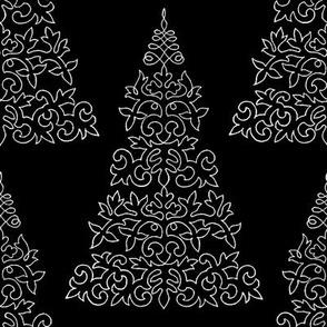 Chalk and Slate Christmas Tree