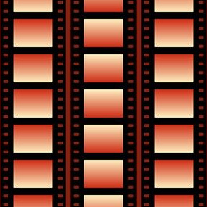03527417 : film cell stripe : red light