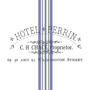 French White Hotel Perrin