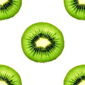 Kiwi Fruit - Large Repeating Pattern