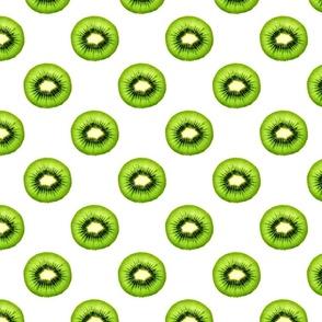 Kiwi Fruit - Small Repeating Pattern