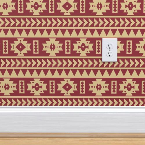 Wallpaper Fsu Aztec Tribal Print