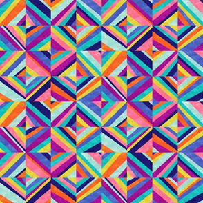 Hybrid - Colorful Geometric