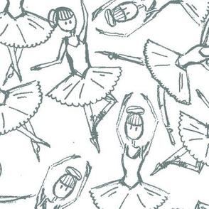 Ballerinas (gray)