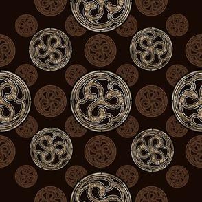 bronze celtic designs