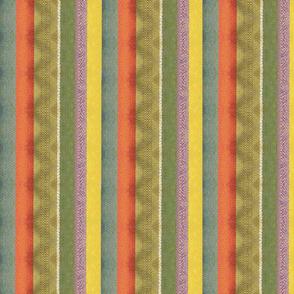 autumnal pixel stripes