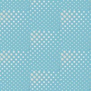 1000 dots-blue