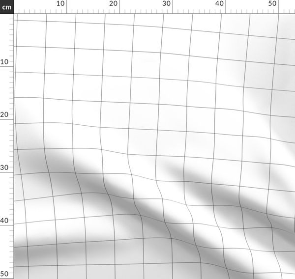 Black And White Grid Large Pencilmeins Spoonflower