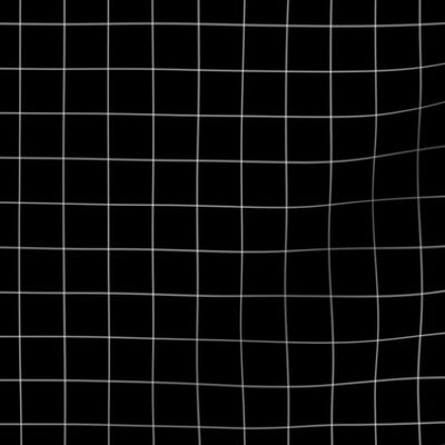Black And White Grid Small Reverse Spoonflower