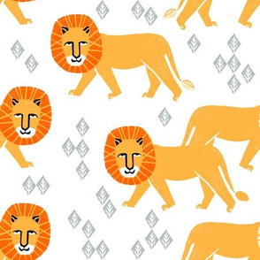 safari lion // kids zoo safari lions nursery baby