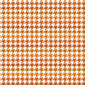 The Houndstooth Check ~ Pumpkin Spice Ombre