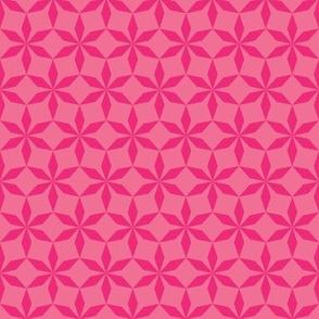 Pink Diamond Flowers