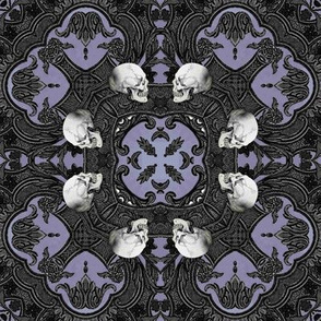 Decaying Mansion ~ Grinning Skulls