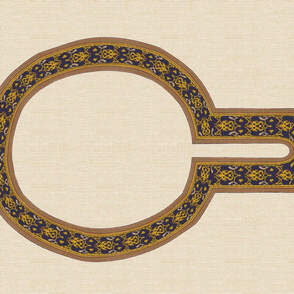 Tiraz neckline