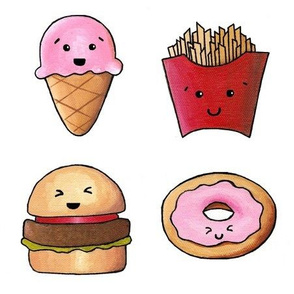 Kawaii Fast Food