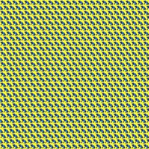 Blue Dart Frog Repeat Print