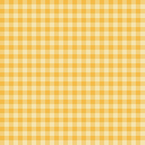 Christmas gold gingham