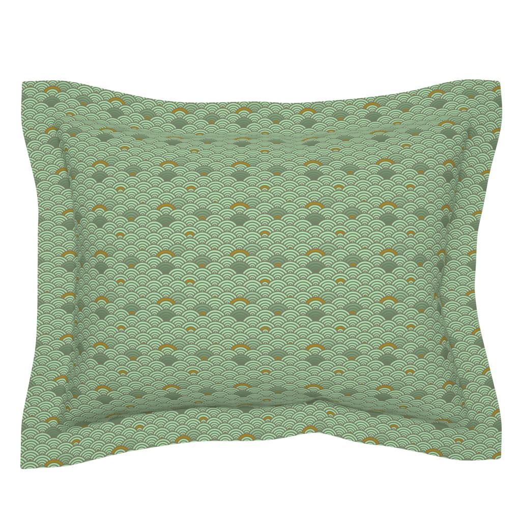 Sebright Pillow Sham featuring Mermaid by iizzard