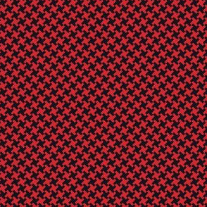 Houndstooth Black&Red small