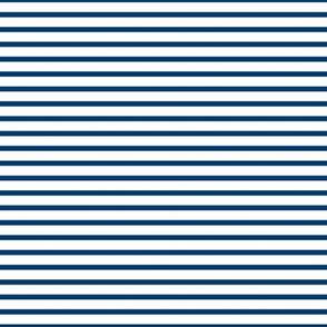 Sailor Stripes Navy on White 50%