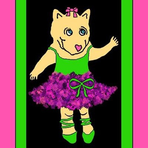 Baby Bear Ballerina