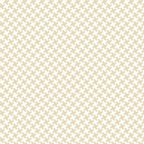 Houndstooth Brown&Cream small