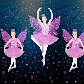 Ballet Dance Lessons / Ballerina Butterfly // dancing // dancers // by Magenta Rose Designs