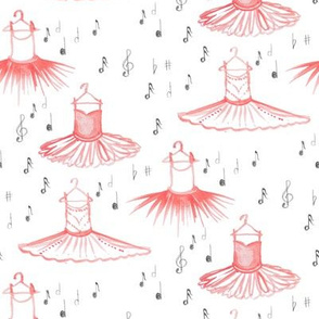 Ballet in Notes of Pink