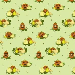 Pumpkins Undercover - Light Green
