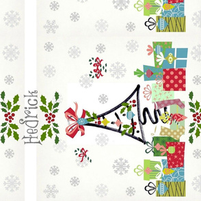 White Christmas LG vertical-personalized HEDRICK