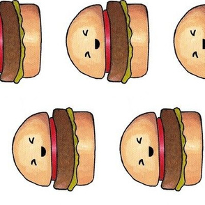Kawaii Burger Side