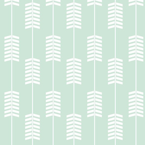 Mint Arrows // Woodland Collection