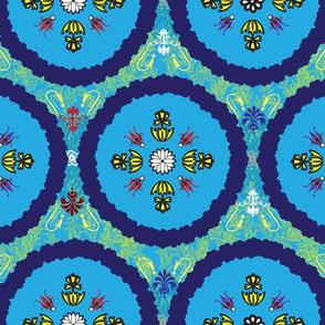 Babushka in Blue