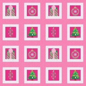 Pastel Christmas Squares