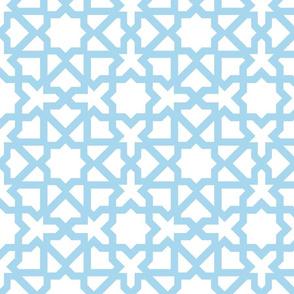 Marrakesch xxl white-turquoise