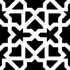Marrakesch xxl black-white