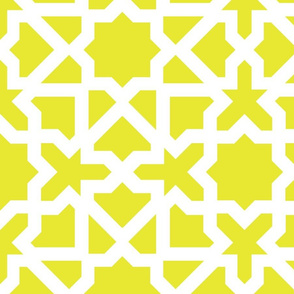 Marrakesch xxl lime-white