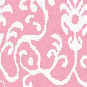 Lucette Ikat in Pink