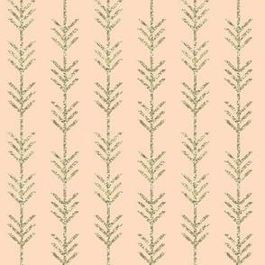 blush arrow stripes // gold sparkle v. II