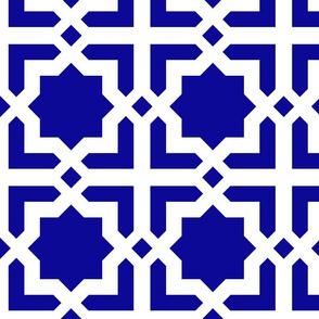 Casablanca blue-white XL