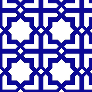 Casablanca white-blue XL