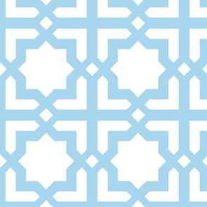Casablanca white-turquoise XL