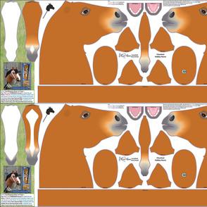 HOBBY HORSE Chestnut Cut n Sew