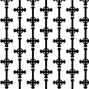 Inverted Gothic Cross