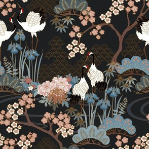 70 percent of original Japanese Garden Charcoal